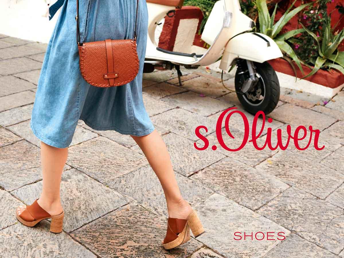 Schuh Kollektion von s.Oliver Frühjahr 2016