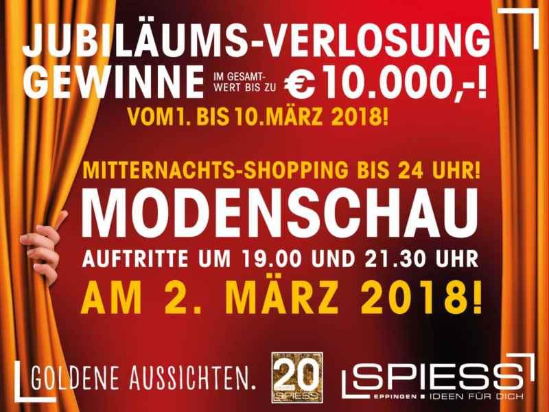 20 Jahre SPIESS Modehaus Eppingen- Modenschau
