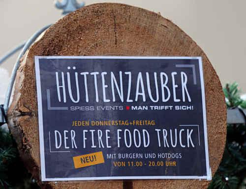 Eppinger Hüttenzauber und der FIRE FOOD TRUCK