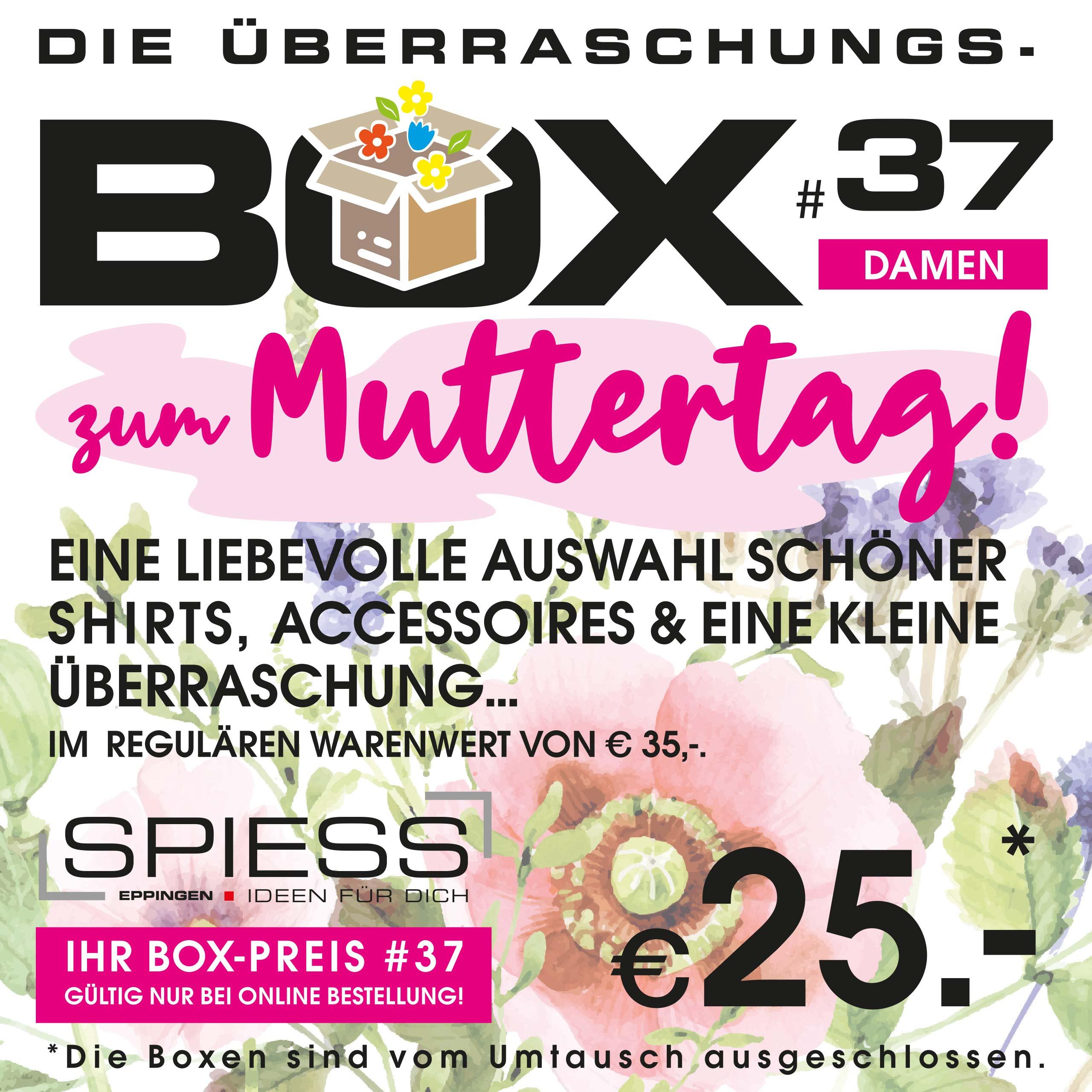 Überraschungsbox #37 |Muttertag | SPIESS Modehaus Eppingen