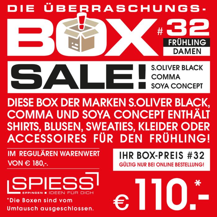 Überraschungsbox #32   SPIESS Modehaus Eppingen
