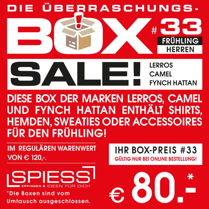 Überraschungsbox #33 LERROS, CAMEL FYNCH HATTAN | SPIESS Modehaus Eppingen