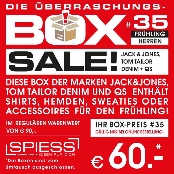 Überraschungsbox #35 Trend Fashion   SPIESS Modehaus Eppingen